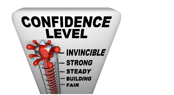 Illustration of excessive confidence