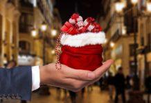 Present Hand Gift Keep Give Christmas Dollar