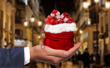 Present Hand Gift Keep Give Christmas Dollar