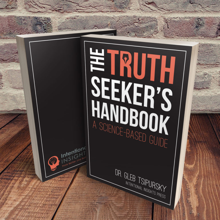 Book Cover of The Truth Seekers Hand Book: A Science-Based Guide